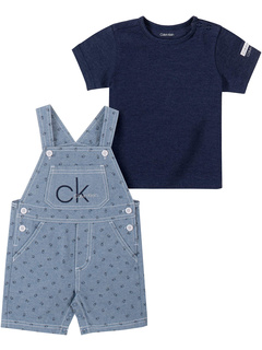 Комплект из 2 предметов с короткими рукавами Calvin Klein