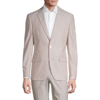Slim-Fit Suit отделяет куртку Tommy Hilfiger
