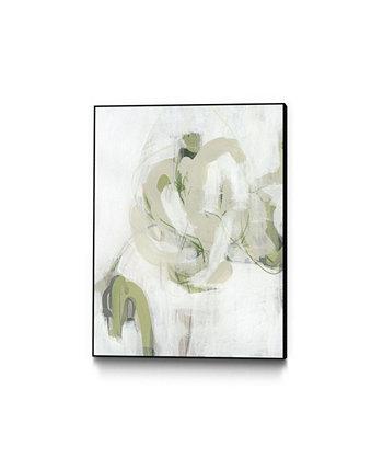 Холст Verge I Art Block 20 дюймов x 16 дюймов в рамке Giant Art