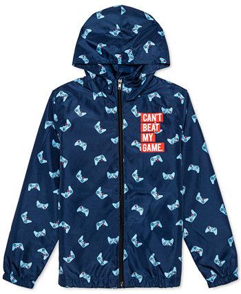Большие мальчики не могут быть избиты куртка с капюшоном JEM