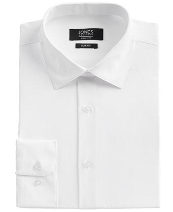 Мужская однотонная классическая рубашка Jones New York