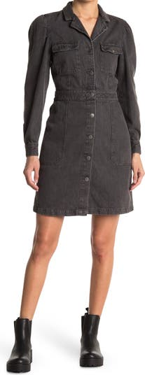 Платье-рубашка с объемными рукавами Mckelle Velvet Heart