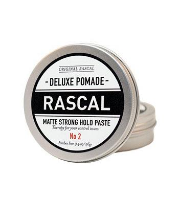 Deluxe Pomade 2, матовый или крепкая паста, 3,4 унции Rascal