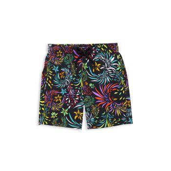Little Boy's & amp; Вечерние шорты для плавания с птицами для мальчиков VILEBREQUIN