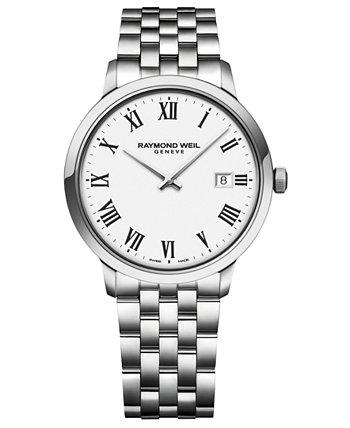 Мужские швейцарские часы из нержавеющей стали Toccata 39 мм Raymond Weil