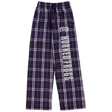 Youth Purple TCU Horned Frogs Flannel Pajama Pants Unbranded