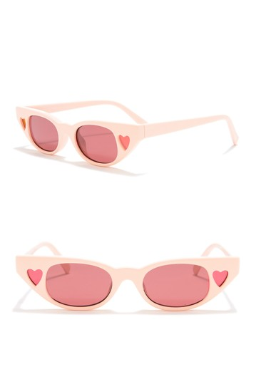 The Heartbreaker Skinny Cat Eye Sunglasses Le Specs