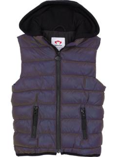 Apex Reflective Puffy Vest w/ Hood (Toddler/Little Kids/Big Kids) Appaman Kids