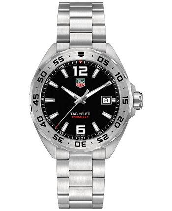 Мужские часы Formula 1 с браслетом из нержавеющей стали, 41 мм TAG Heuer