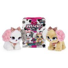 Интерактивная плюшевая игрушка для питомцев Present Pets Fancy Puppy Spin Master