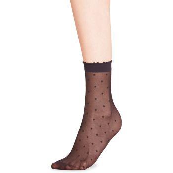 Сетчатые носки на щиколотке в горошек Falke