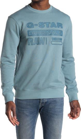 Толстовка с оригинальными логотипами G-STAR RAW