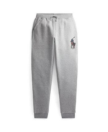 Флисовые брюки-джоггеры Big Boys Big Pony Ralph Lauren