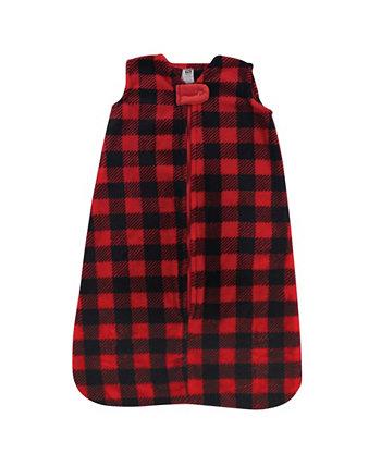 Плюшевый спальный мешок для мальчиков и девочек Hudson Baby