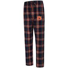 Men's Concepts Sport Navy Auburn Tigers Big & Tall Hillstone Flannel Pants Unbranded