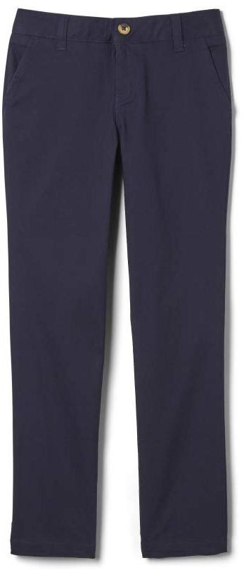 Прямые брюки из твила с регулируемой талией и регулируемой талией (для больших детей) French Toast