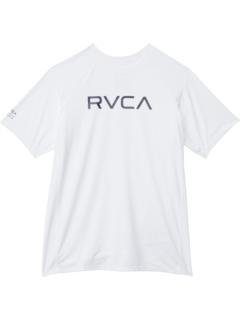 Рашгард с коротким рукавом (для больших детей) RVCA Kids