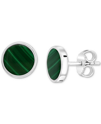 Мужские серьги-гвоздики EFFY® с лазуритом из стерлингового серебра (также из малахита) EFFY Collection