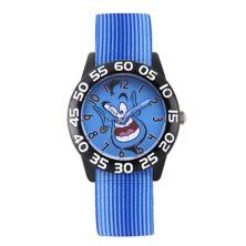 Детские часы для учителей Black Time от Disney's Aladdin Genie Licensed Character
