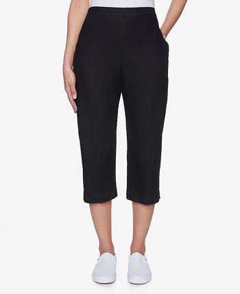 Джинсовые брюки-капри больших размеров Classics Alfred Dunner