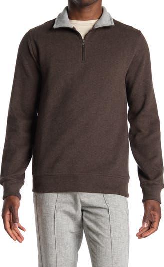 Трикотажный пуловер с молнией до четверти TailorByrd