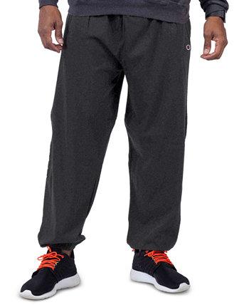 Мужские большие и высокие флисовые штаны Champion