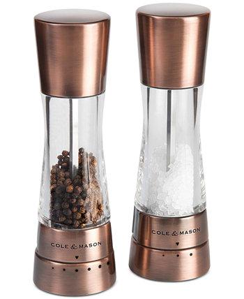 Набор для измельчения медной соли и перца Derwent Cole & Mason