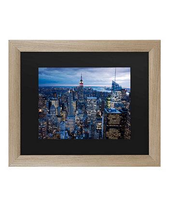 """Мастерс изобразительного искусства Нью-Йорк, штат Нью-Йорк. Искусство в рамке - 37 """"x 49"""" Trademark Global"""