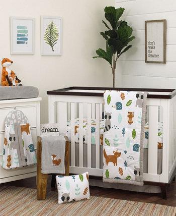 Комплект постельного белья для детской кроватки Woodland Friends из 8 предметов NoJo