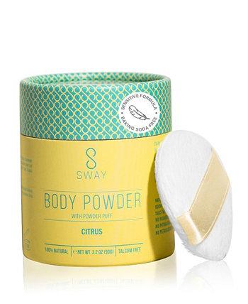 Натуральный порошок для тела - Citrus Sensitive Formula SWAY