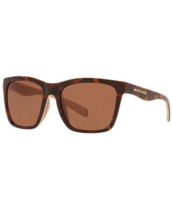 Мужские поляризованные солнцезащитные очки Native, XD0064 56 Native Eyewear