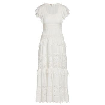 Многослойное макси-платье Rinny LOVESHACKFANCY
