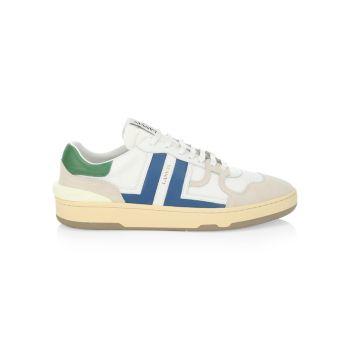Кроссовки для тенниса с низким берцем из глины Lanvin