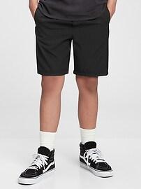 Подростковые шорты без застежки с рециклированной подкладкой Gap