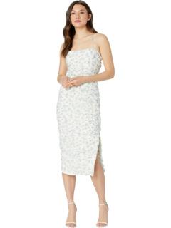 Миди-платье Ditsy со сборками Bardot