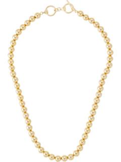 Металлическое ожерелье с воротником из бусин Ralph Lauren