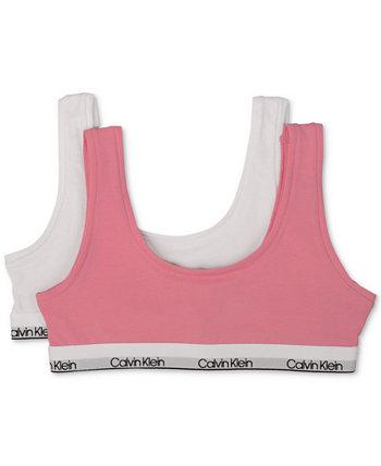 Комплект из 2 бюстгальтеров для маленьких и больших девочек Calvin Klein