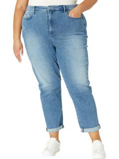 Plus Size Margot Girlfriend Jeans in Lunar NYDJ Plus Size