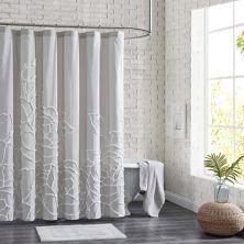 Peri Chenille Rose Shower Curtain Peri