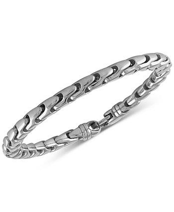 Браслет Link из нержавеющей стали, созданный для Macy's Esquire Men's Jewelry