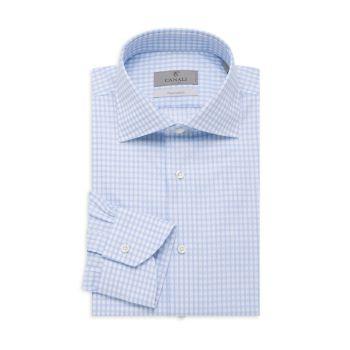 Классическая рубашка современного кроя Canali