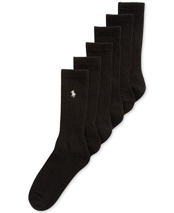 Классические носки с круглым вырезом, 6 пар Ralph Lauren
