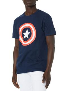 Футболка Marvel Captain America 80's Captain America Marvel