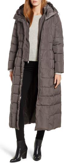 Стеганое пальто Cole Haan с внутренним нагрудником COLE HAAN SIGNATURE