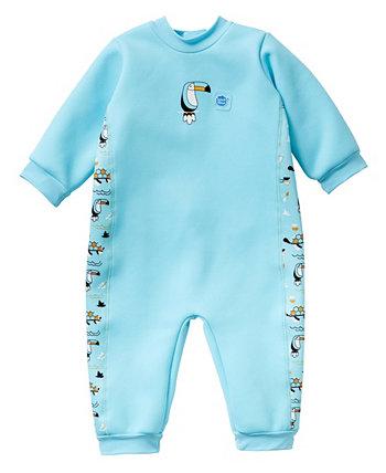 Младенец и малыш в теплом гидрокостюме Ноев Ковчег 12-24 месяца Splash About