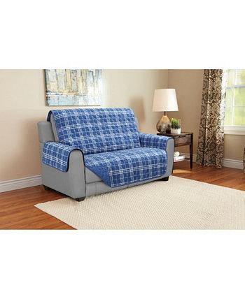 Furniture Protector Loveseat Plaid Harper Lane