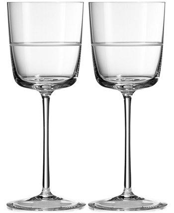 Пара бокалов для вина Bande Vera Wang Wedgwood