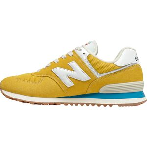 Замшевые сетчатые кроссовки New Balance 574 New Balance