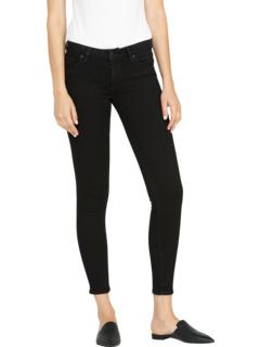 Криста Супер Тощий в Черном Hudson Jeans