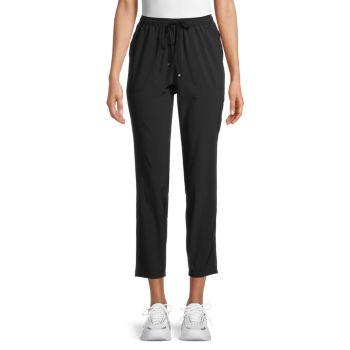 Укороченные брюки с кулиской Max Studio